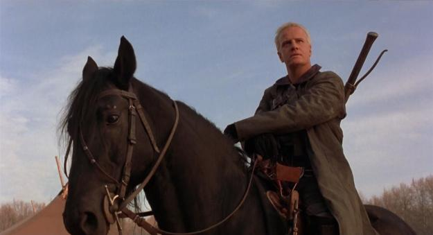 Beowulf is more of a cowboy than an Anglo-Saxon warrior in Graham Baker's film