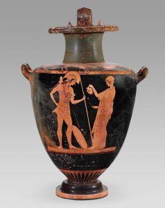 greek libation urn